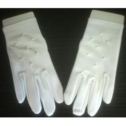 Rękawiczki komunijne - wzór 3