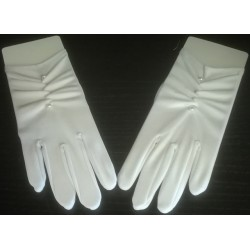 Rękawiczki komunijne - wzór 4