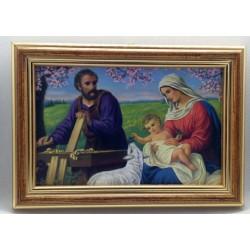 Obrazek 12,5 x 17,5 cm - św. Rodzina
