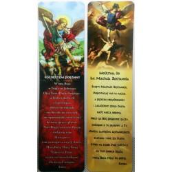 Zakładka do książki - Modlitwa do św. Michała Archanioła