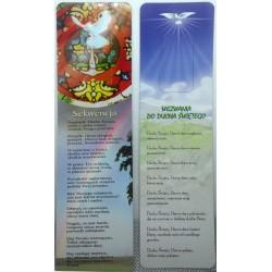 Zakładka do książki - Wezwania do Ducha Świętego