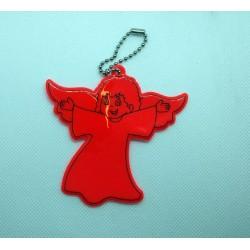 Odblask - aniołek czerwony