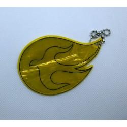 Odblask - Duch Święty żółty